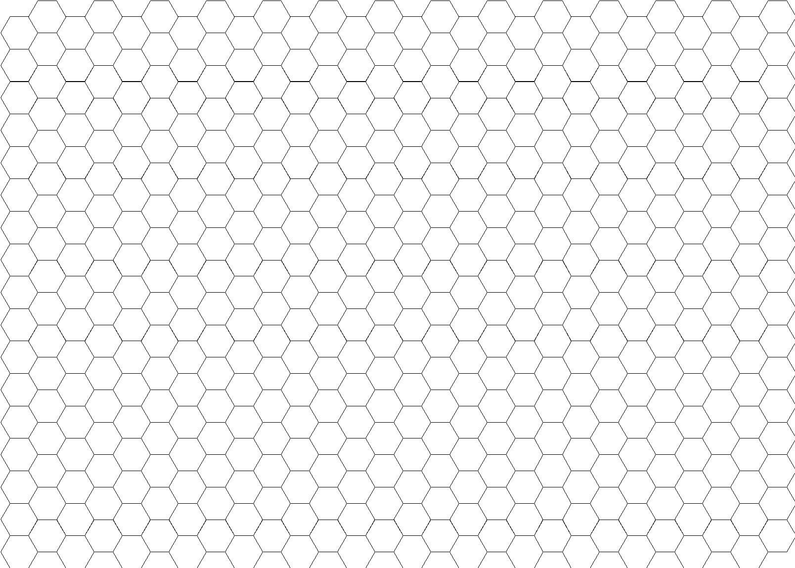 It is an image of Candid Printable Hexagon Grid
