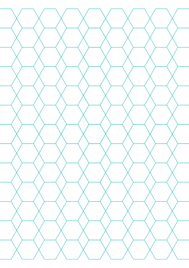 Diamond Shaped Graph Paper