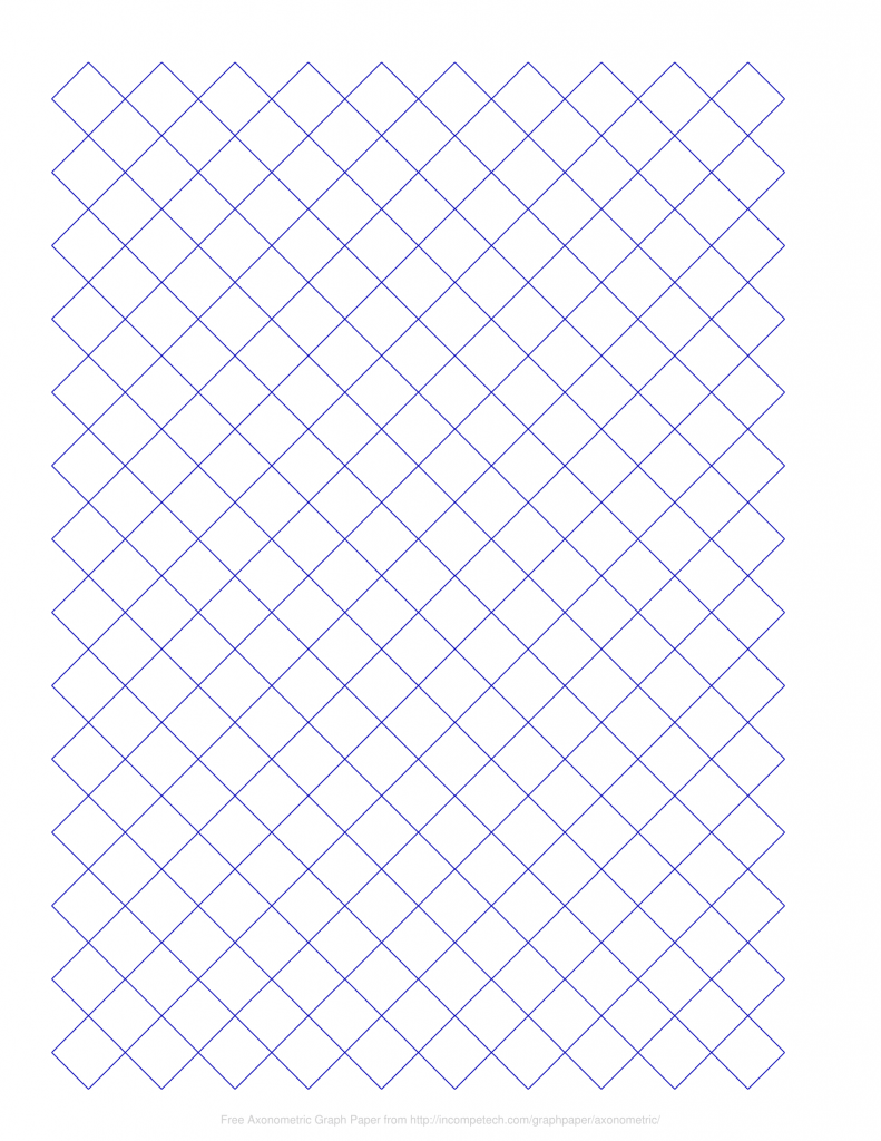 Diamond Graph Paper