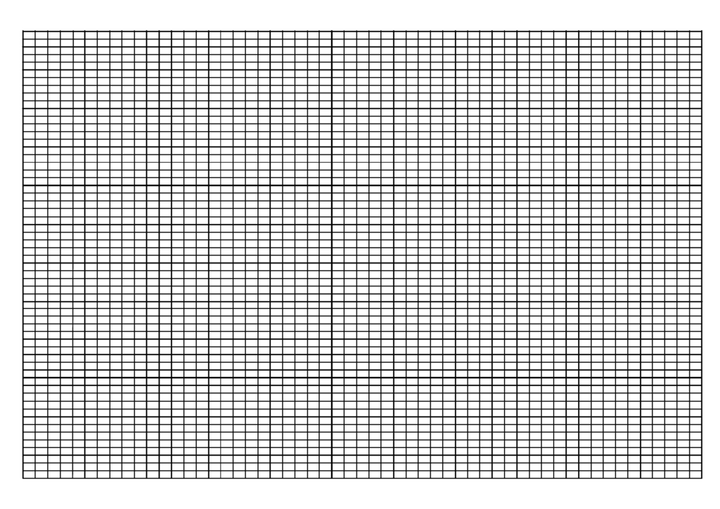 Printable Knitting Graph Paper