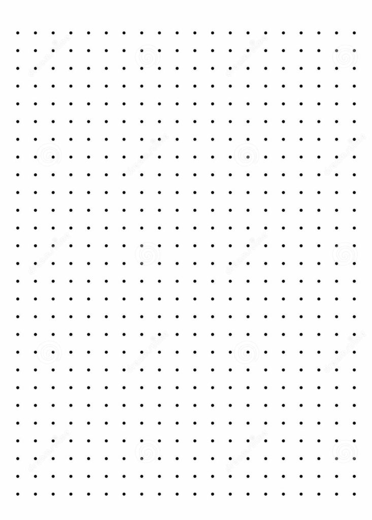 Printable Dot Graph Paper Template PDF